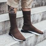 """【海外発売中】Reebok Sock Runner UltraKnit """"Brown""""【リーボック ソックランナー ウルトラニット】"""