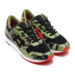 "【8月11日9:00&12:00】ASICSTIGER for atmos GEL-LYTE III ""GREEN CAMO"" 【アトモス ゲルライト】"