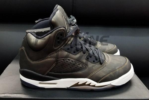 """Air Jordan 5 Premium Heiress """"Metallic Field"""""""