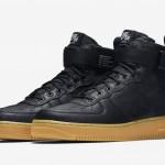 """【9月発売】Nike SF-AF1 Mid """"Black Gum""""【スペシャルフィールド エアフォース1】"""