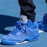 """【9月30日9:00】Nike Air Force1 NBA & Air Jordan 5 """"Blue Suede""""【ステイトメントパック ブルースエード】"""