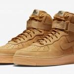 """【季節到来】Nike Air Force 1 High """"Flax"""" 【ナイキ エアフォース1 フラックス】"""