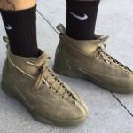 """【リーク】PSNY x Air Jordan 15 """"Olive Suede"""" 【パブリックスクール x エアジョーダン15】"""