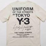 【東京限定モデル】Y-3 15th Anniversary 限定Tシャツ 【ヨウジヤマモト アディダス ワイスリー】