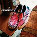 【10月28日12:00発売】Vans x Rollicking SLIP ON V98RK ALOHA HYAKUTORA 【スリッポン ローリッキング】