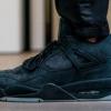 """【11月27日発売】KAWS x Air Jordan 4 """"Black/Black""""【カウズ x エアジョーダン4】"""