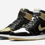 """【11月27日発売】Air Jordan 1 """"Gold Top 3""""【エアジョーダン1】"""