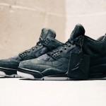 """【11月27日発売】KAWS x Air Jordan 4 """"Black""""【カウズ x エアジョーダン4】"""