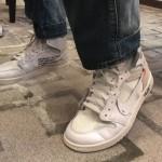 """【新画像リーク】Off-White™ x Air Jordan 1 """"White""""【オフホワイト x エアジョーダン1】"""