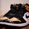 """【リーク】Air Jordan 1 """"Gold Toe"""" 861428-007【ゴールドトゥ】"""