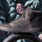 """【発売中】Nike SB Dunk High """"Triple Black""""【ナイキ SB ダンク ハイ】"""
