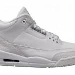 """【7月21日発売】Air Jordan 3 """"Triple White""""【エアジョーダン3】"""
