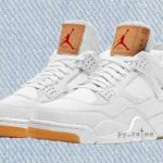 """【6月発売】Levi's x Air Jordan 4 """"White Denim""""【リーバイス x エアジョーダン4】"""
