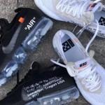 """【2月発売】Off-White x Nike Air VaporMax 2018 """"Black"""" & """"White""""【オフホワイト x ナイキ 2018】"""