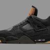 """【リーク】Levi's x Air Jordan 4 """"Black Denim""""【リーバイス x エアジョーダン4】"""