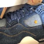 """【1月17日発売】Levi's x Air Jordan 4 """"Denim""""【リーバイス x エアジョーダン4】"""