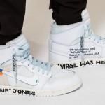 """【2月27日発売】Off-White x Air Jordan 1 """"All-White""""【オフホワイト x エアジョーダン1】"""