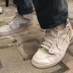 """【2月27日発売】Off-White x Air Jordan 1 """"White""""【オフホワイト x エアジョーダン1】"""