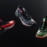 """【2月16~17日発売】adidas Dame 4 """"BAPE"""" Pack【アディダス x ベイプ】"""