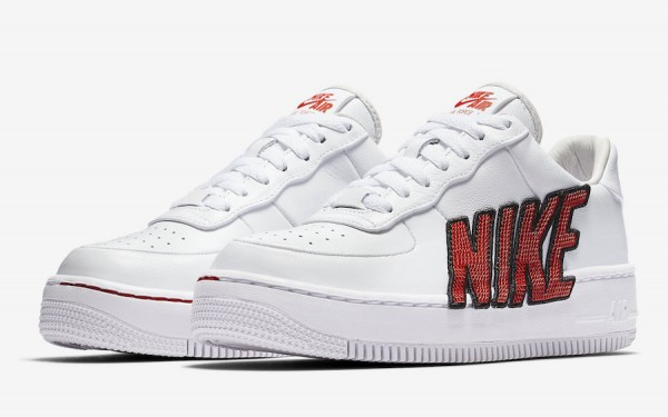 new concept 0a153 16c81 Nike Air Force 1 Upstep LX Color  White White-Black-Habanero Red Style Code   898421-101