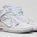 """【2月27日限定発売】Off-White x Air Jordan 1 """"White"""" 2018【オフホワイト x ナイキ】"""