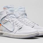 """【抽選参加可能店舗】Off-White x Air Jordan 1 """"White""""【オフホワイト x エアジョーダン1】"""