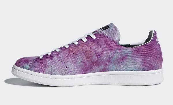 "5280008ea Pharrell x adidas Stan Smith ""Holi"". Pharrell x adidas Stan Smith ""Holi""  Color  Lab Purple Style Code  DA9612 Release Date  March 2018"