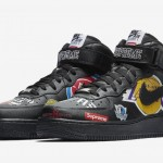 "【3月10日発売予定】Supreme x NBA x Nike Air Force 1 Mid ""Black""【シュプリーム x NBA x ナイキ】"