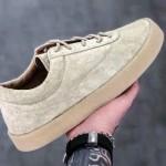 【発売中】YEEZY Season 6 Chalk Thick Snaggy Suede Crepe Sneaker【イージー】