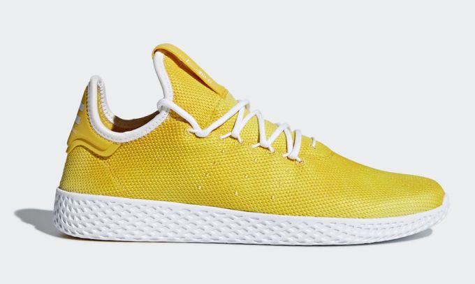 5cb950be5 adidas Tennis Hu Color  Bright Yellow Footwear White-Footwear White Style  Code DA9617 Release Date  March 16
