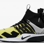 """【9月発売】Acronym x Nike Air Presto Mid """"Dynamic Yellow""""【アクロニウム x エア・プレスト】"""
