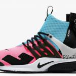 """【リーク】Acronym x Nike Air Presto Mid """"Racer Pink""""【アクロニウム x ナイキ】"""