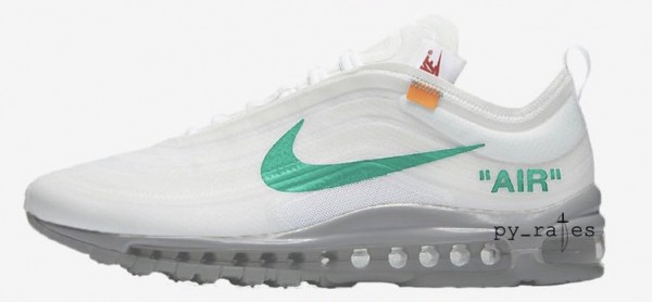 san francisco 10c93 a1eee Off-White x Nike Air Max 97 OG Color  Black Cone-Black-White Style Code   AJ4585-001. Release Date  November 2018 Price   190