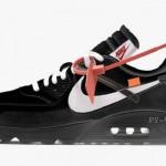 """【2018年10月発売】Off-White x Nike Air Max 90 """"Black""""【オフホワイト x ナイキ】"""