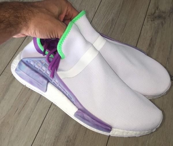 1fe5408a15e Pharrell x adidas NMD Hu Joker Sample. sneakerbardetroit