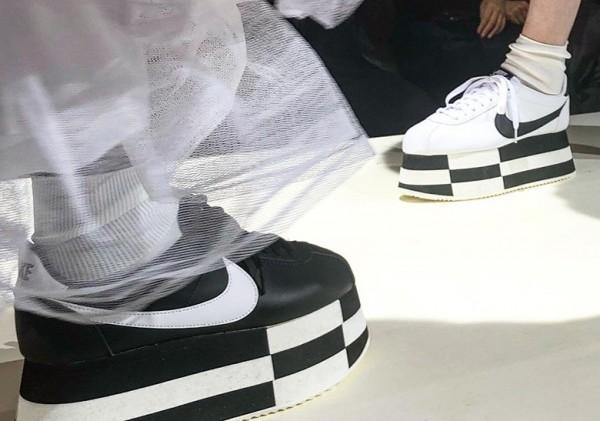 リーク】COMME des Garcons x Nike Cortez