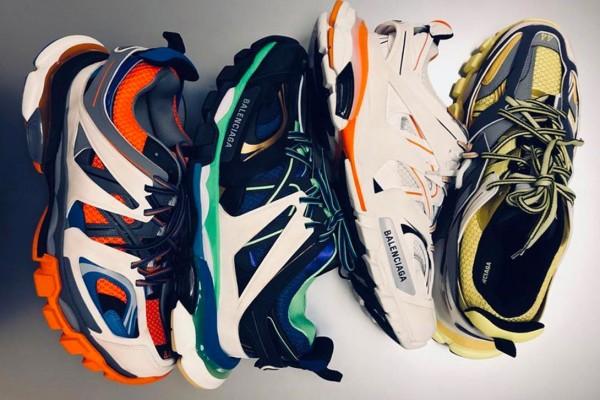 huge selection of 95640 f60d5 2018年秋冬】バレンシアガ 新作 トレイル・スニーカー   sneaker ...