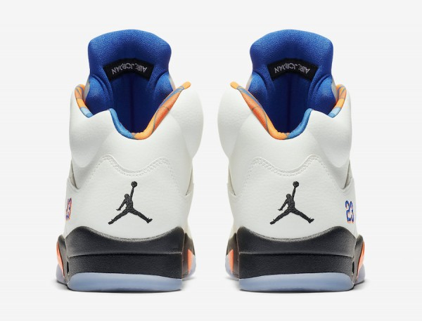 "promo code 95d20 a4e30 Air Jordan 5 ""International Flight"" Color  Sail Orange Peel-Black-Hyper  Royal Style Code  136027-148. Release Date  August 25, 2018. Price   190"