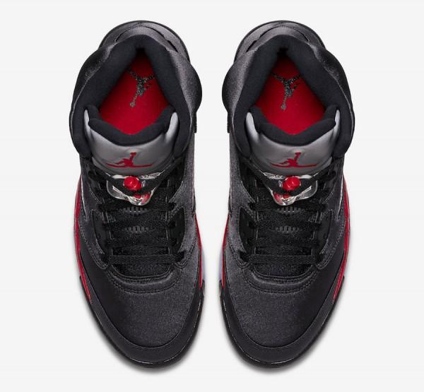 new arrivals 2d922 9b8bf Air Jordan 5 Satin Color  Black University Red Style Code  136027-006. Release  Date  November 26, 2018. Price   190