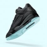 """【8月15日発売】Air Jordan 3 Flyknit """"Black""""【エアジョーダン3,】"""