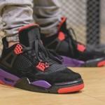"""【8月18日発売】Air Jordan 4 """"Raptors""""【エアジョーダン4 ラプターズ】"""