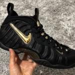 "【11月17日】Nike Air Foamposite Pro ""Black/Metallic Gold""【624041-009】"