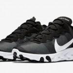 """【2018年後半】Nike React Element 55 """"Black/White""""【リアクト・エレメント】"""