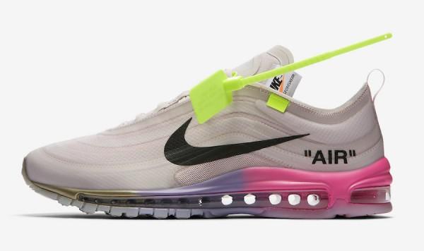 """66f94d07859 海外限定発売】Off-White x Nike Air Max 97 """"Queen""""【オフホワイト x ..."""