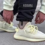 """【リストック】adidas Yeezy Boost 350 V2 """"Butter""""【イージーブースト350 V2】"""