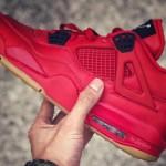 """【2019年発売】Air Jordan 4 """"Red Gum""""【エアジョーダン4】"""