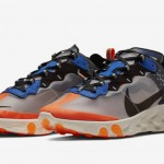 "【2018年秋発売】Nike React Element 87 ""Thunder Blue/Total Orange""【リアクト・エレメント87】"