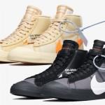 """【直リンク】Off-White x Nike Blazer Mid """"Spooky"""" Pack【AA3832-001 AA3832-700 オフホワイト x ナイキ】"""