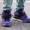 """【超限定】Travis Scott x Air Jordan 4 """"Purple""""【トラヴィス・スコット x エアジョーダン4】"""