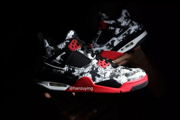 Air-Jordan-4-Print-White-Black-Red-BV7451-003-Release-Date-9